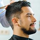 Hair styling at Salon Privado