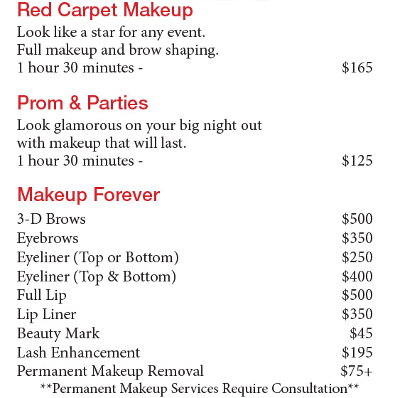 She Selects The Most Top Makeup In Industry When Doing For Television Film Commercial Photo Shoots Weddings And Special Events